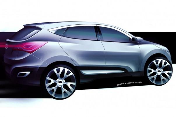 Hyundai HED-6, antevisão do novo Tucson