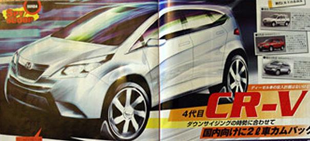 Honda CR-V 2012?