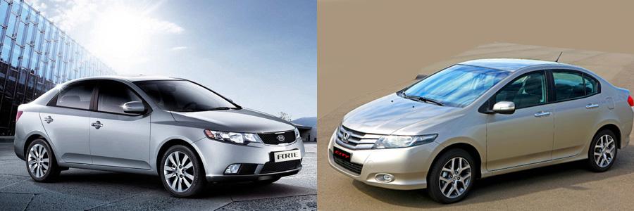 Kia Cerato ou Honda City: qual a melhor compra?