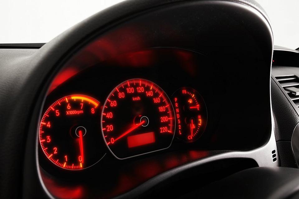 Suzuki SX4 - painel