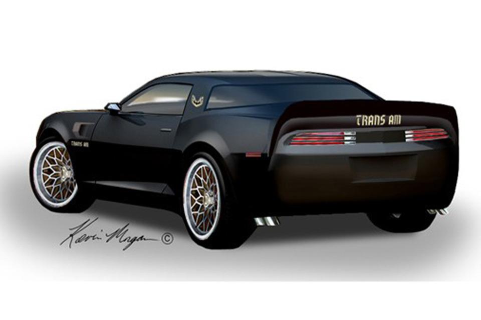 """Pontiac """"vive"""" em Camaro convertido em Trans Am"""