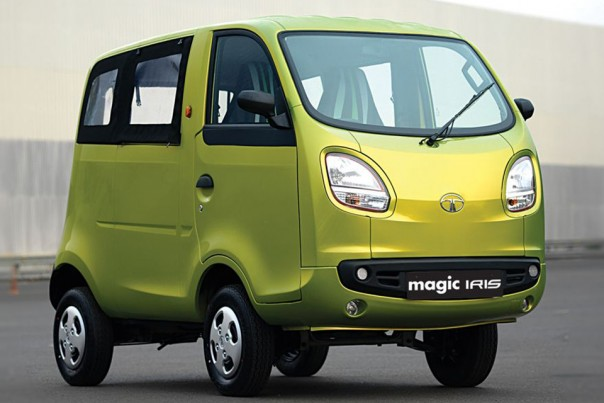 Tata magic iris um nano vers o kombi blogauto
