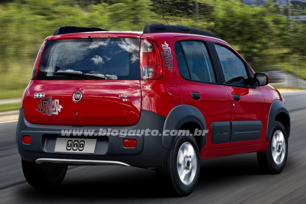 Novo fiat uno way 1 4 galeria de fotos blogauto for Interno uno