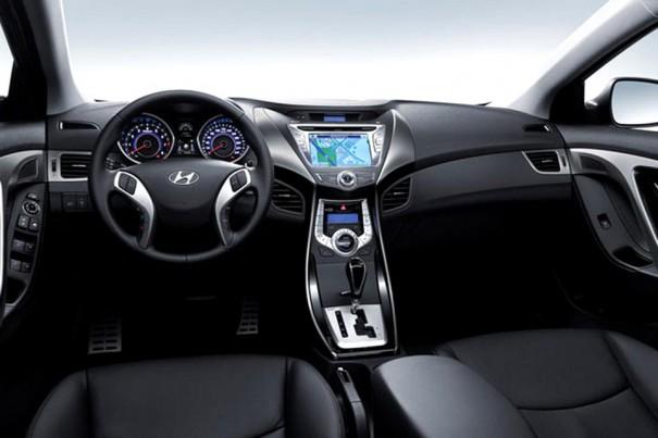 Novo Hyundai Elantra Por Dentro Blogauto