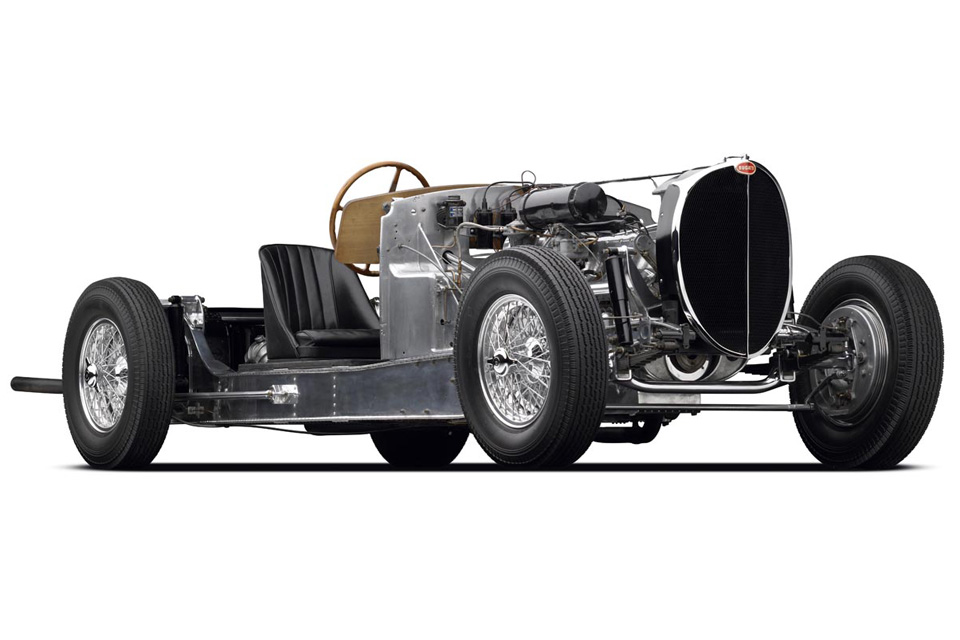 Chassi do Bugatti Type 64