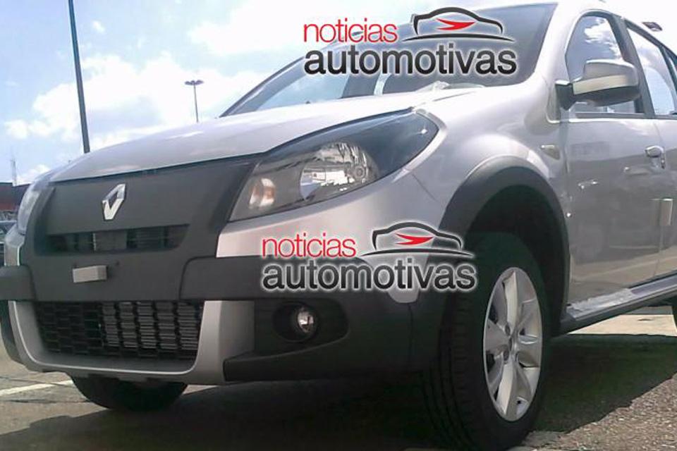Renault Sandero 2012 será lançado dia 9 de maio