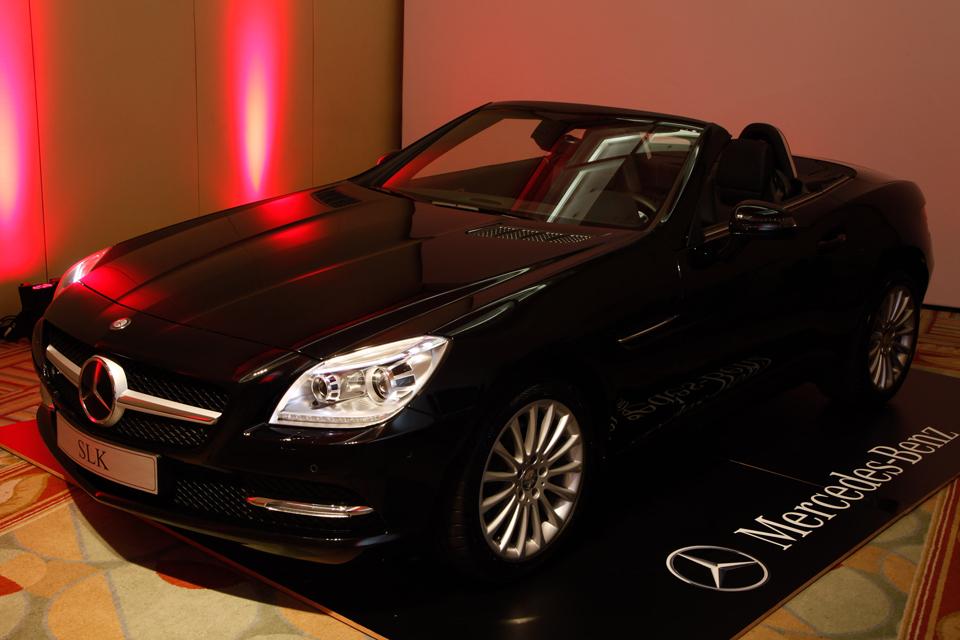 Mais Mercedes: novo SLK 350 chega em junho