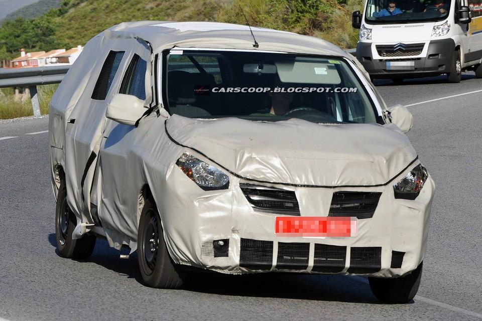 Renault desenvolve minivan de baixo custo e sete lugares