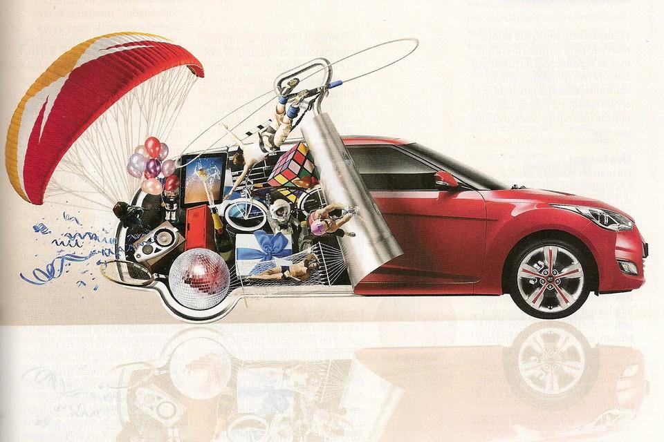 Veloster já aparece em campanha publicitária da Hyundai