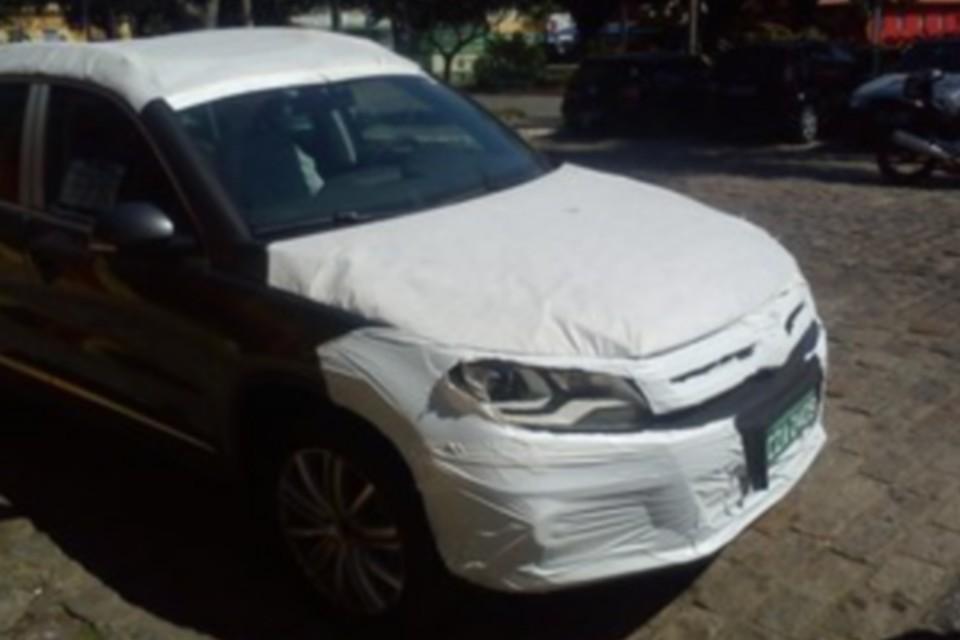 Volkswagen Tiguan reestilizado é flagrado pela primeira vez no Brasil