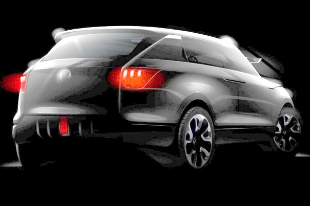 2011 ssangyong concept xuv - photo #23