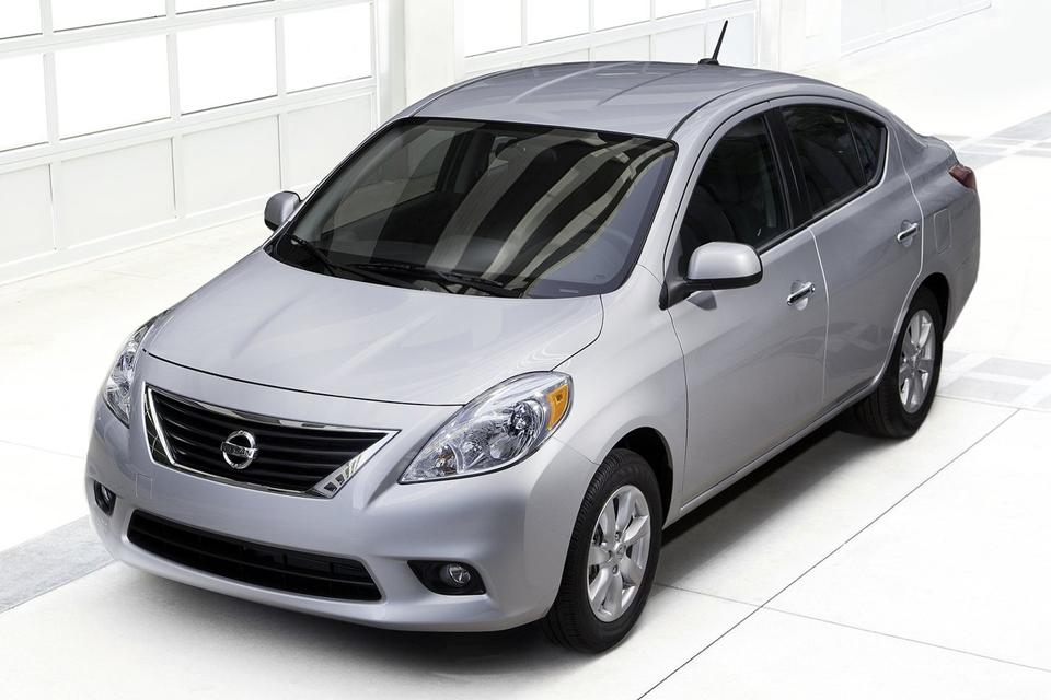 Nissan Versa chega ao Brasil em novembro