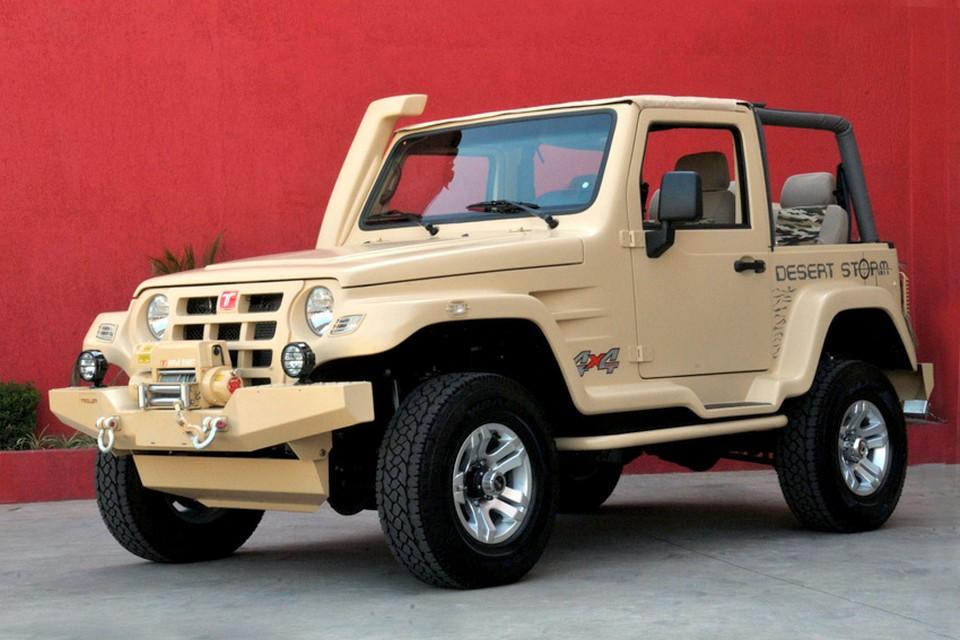Troller T4 ganha série especial Desert Storm a partir de R$ 96.900