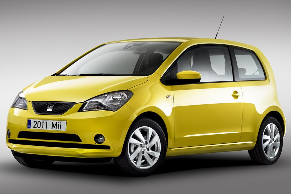 Seat mostra o novo Mii, subcompacto derivado do Volkswagen Up!