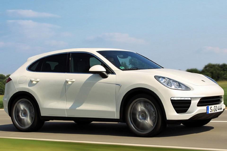 Projeção do futuro Porsche Cajun