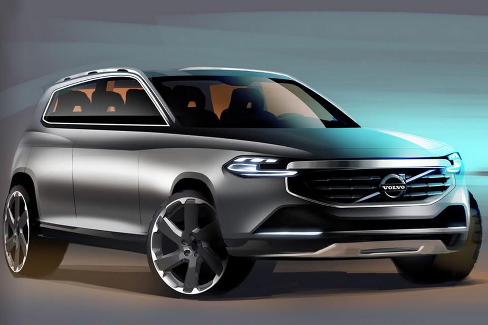 Volvo revela esboços da segunda geração do XC90