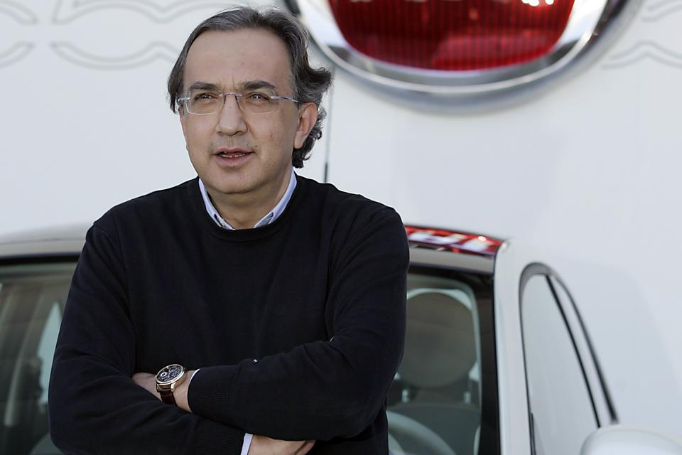 Sergio Marchionne, CEO do Grupo Fiat
