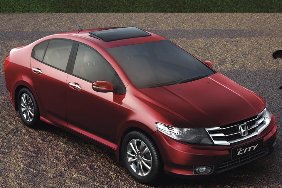 Honda City reestilizado é lançado na Índia
