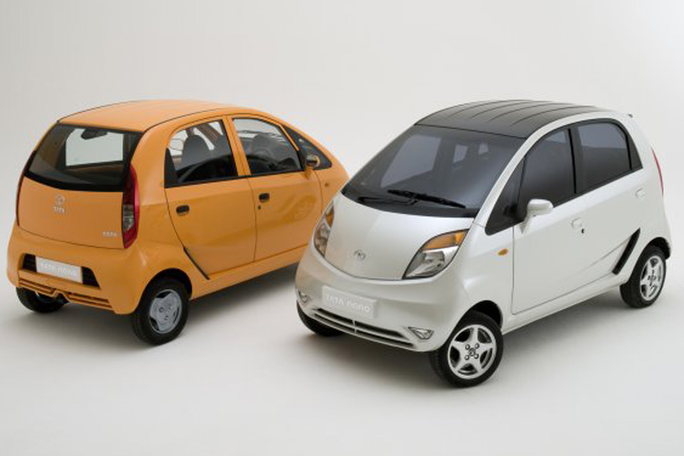 """Tata anuncia novo """"recall"""" para o Nano na Índia"""