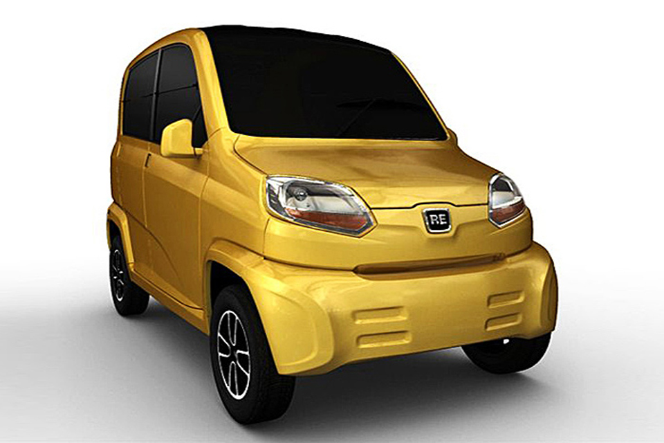 Bajaj RE60 será o primeiro concorrente do Tata Nano na Índia