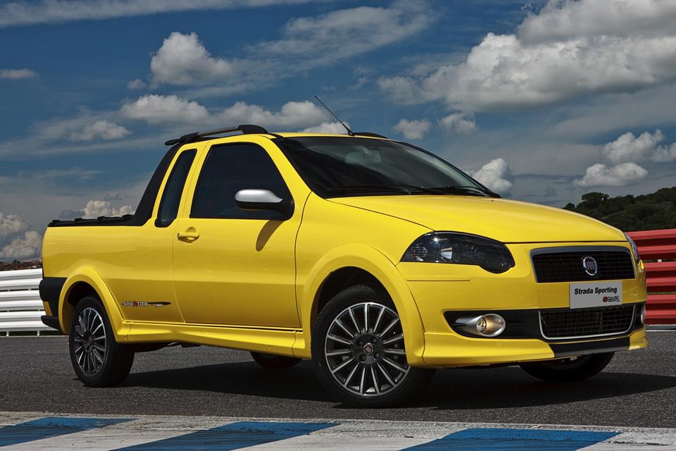 Fiat Strada completa 20 anos e continua líder