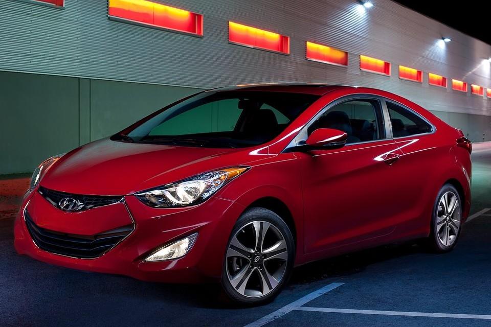 Hyundai Elantra Coupe estará no Salão de Chicago