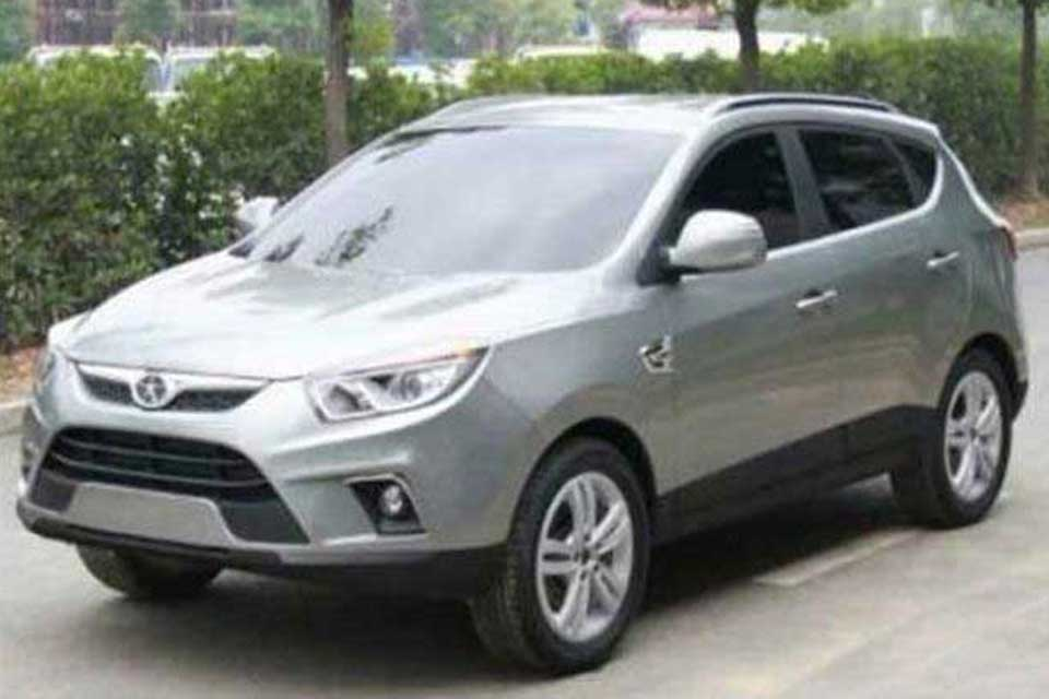 Flagra do JAC B-SUV