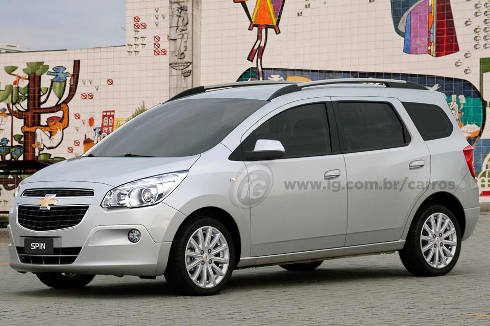 Chevrolet Spin, sucessora de Meriva e Zafira, chega em julho - BlogAuto 676cf99438