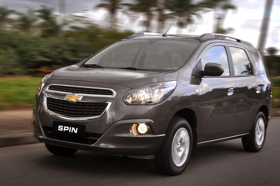 Chevrolet Spin chega para substituir Meriva e Zafira apostando no custo  benefício 94c2391ba2