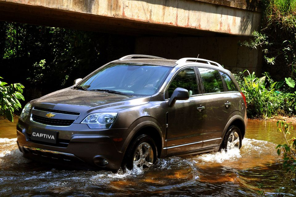Chevrolet Captiva Sport é convocada para recall nos EUA por problema no freio de estacionamento