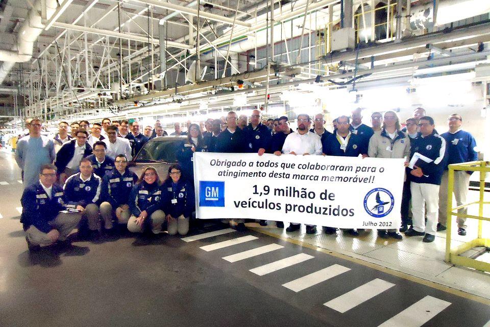 Fábrica da GM em Gravataí completa 12 anos