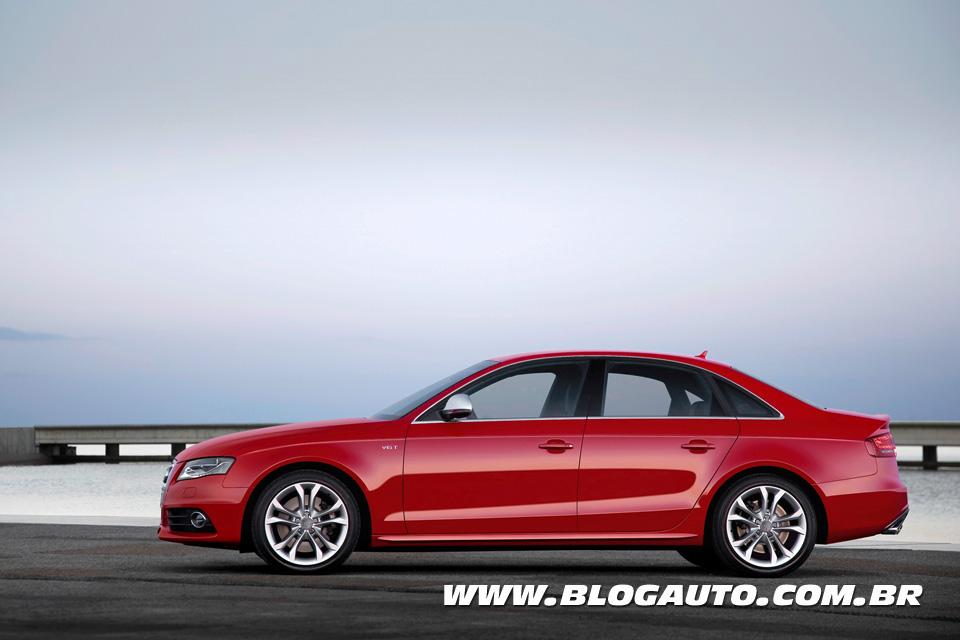 Veja a galeria do esportivo Audi S4