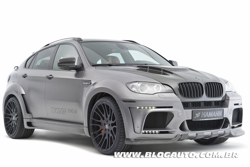 Galeria de fotos do BMW X6 M Hamann Tycoon EVO M