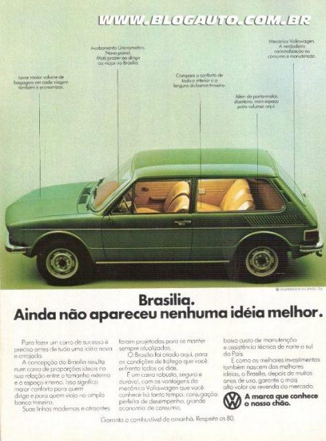 Volkswagen Brasilia 1977