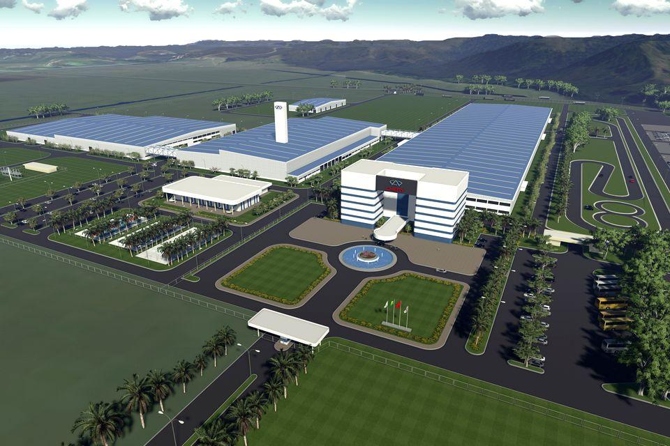 Chery começa a construir fábrica em Jacareí