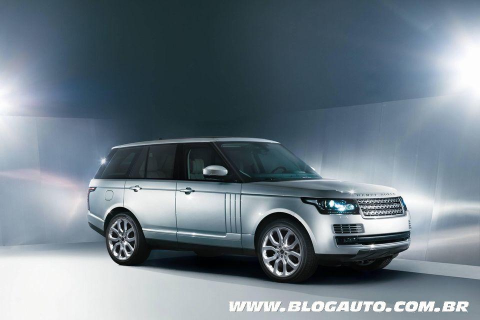 Novo Range Rover Vogue é apresentado e pode aparecer no Salão de SP