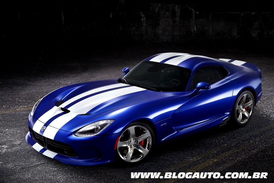SRT lança edição especial para o novo Viper GTS