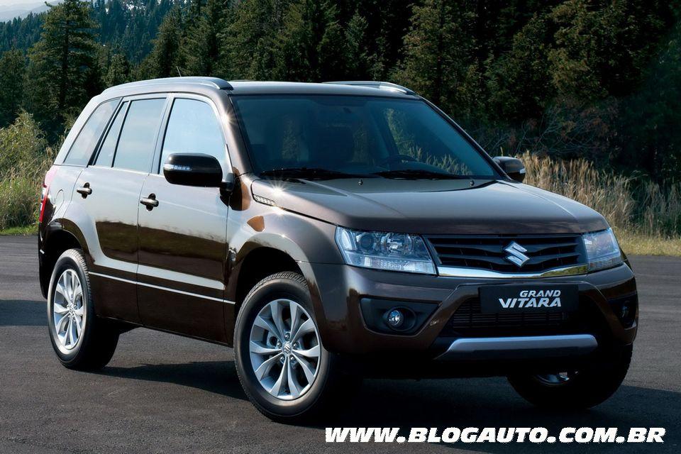 Suzuki lança Grand Vitara 2013, que chega ao Brasil ainda este ano