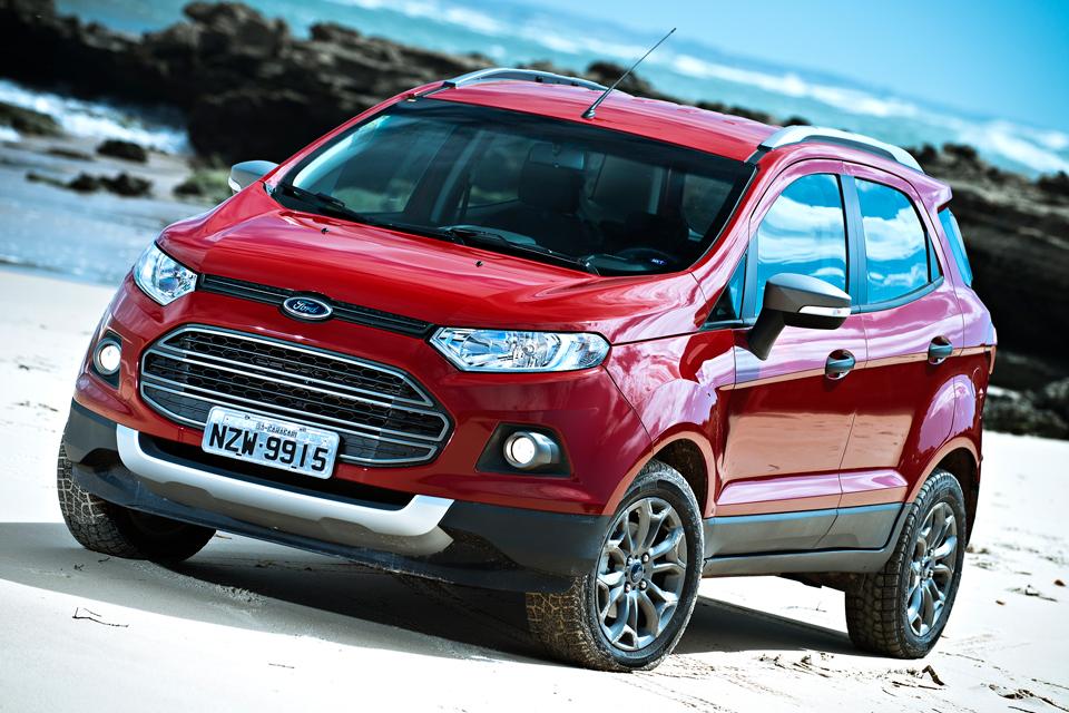 Ford EcoSport com câmbio PowerShift e tração 4WD estará no Salão