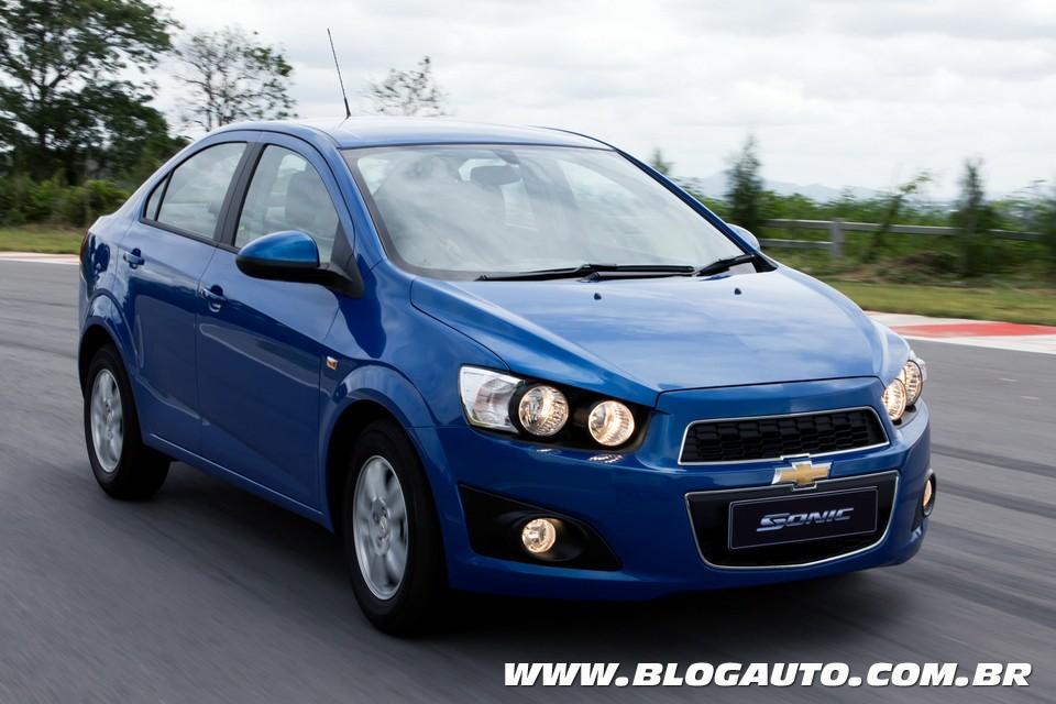 Chevrolet Sonic 2012/2013 vai passar por um recall