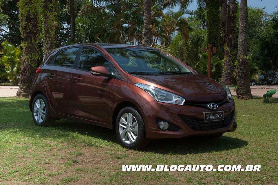 O novo Hyundai HB20 eleva o nível do segmento