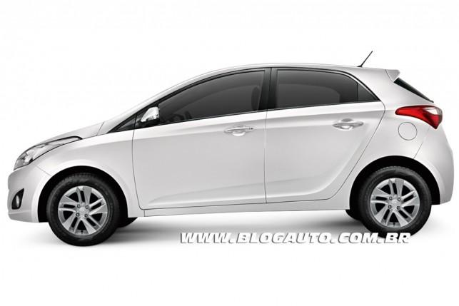 Hyundai HB20 2013 Branco Polar