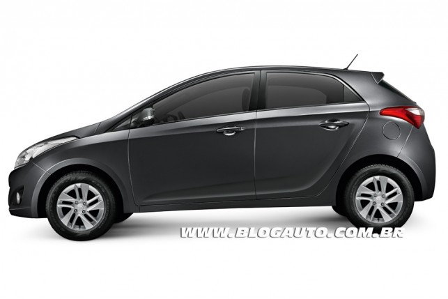 Hyundai HB20 2013 Cinza Titanium