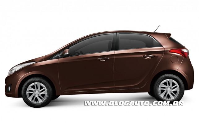 Hyundai HB20 2013 Marrom Clay