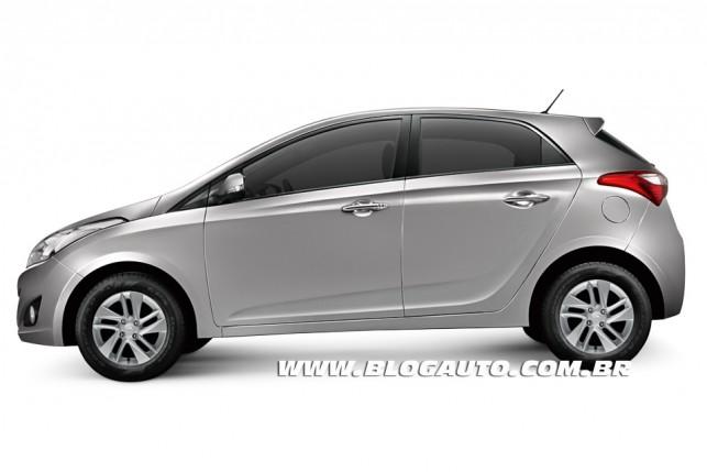 Hyundai HB20 2013 Prata Metal