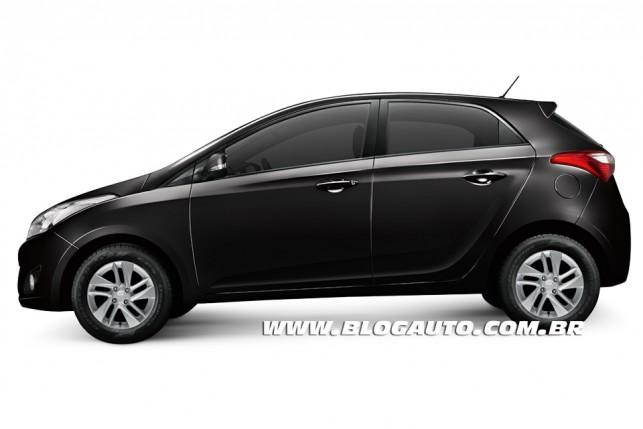 Hyundai HB20 2013 Preto Onix