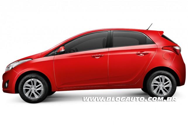 Hyundai HB20 2013 Vermelho Tropic