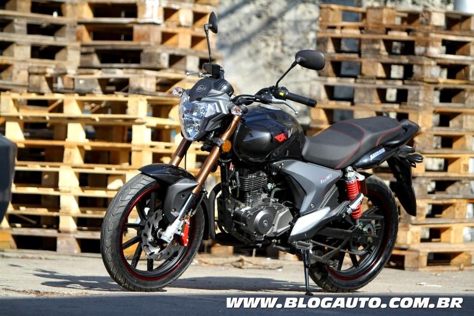 Motos da Keeway e da Benelli serão fabricadas no Brasil