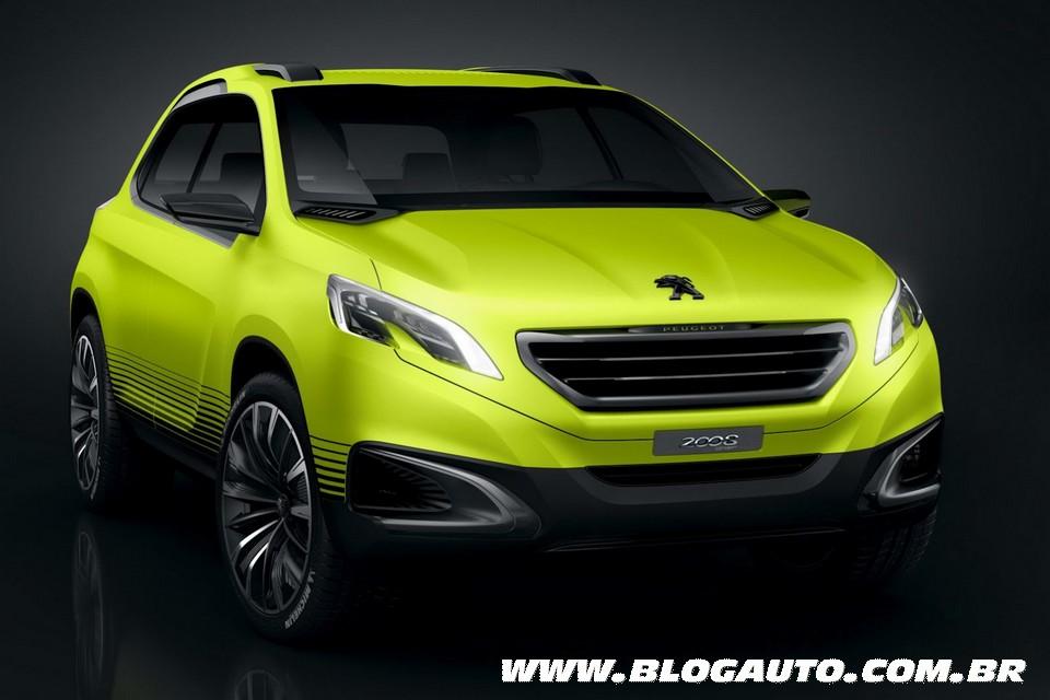 Peugeot revela imagens do conceito 2008