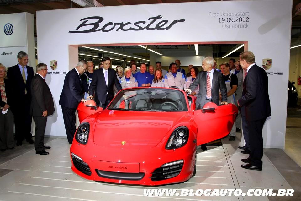 Porsche Boxster começa a ser produzido na Volkswagen